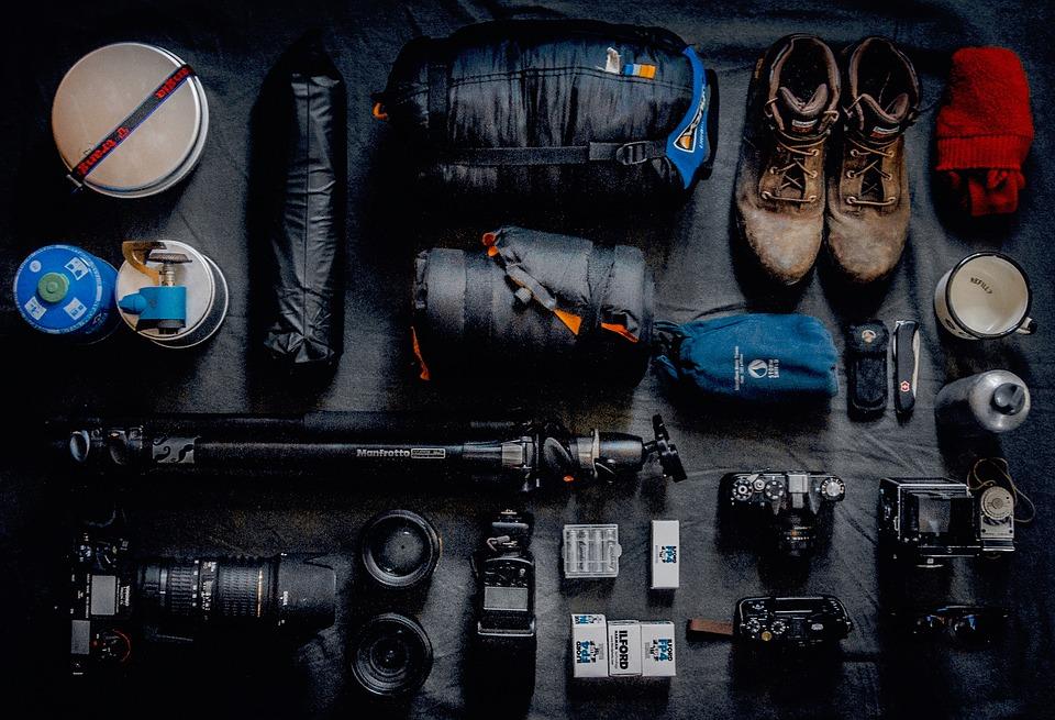 My tech travel setup